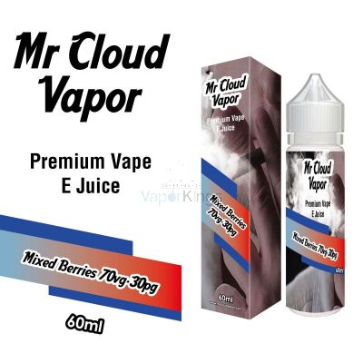 Mixed Berries Eliquid Nic MR CLOUD VAPOR