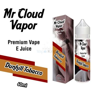 Dunhill Tobacco Eliquid Nic MR CLOUD VAPOR