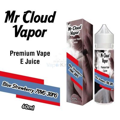 Blue Strawberry Eliquid Nic MR CLOUD VAPOR