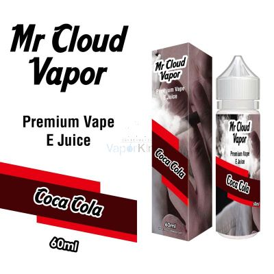 Coca Cola Flavour Eliquid Nic MR CLOUD VAPOR