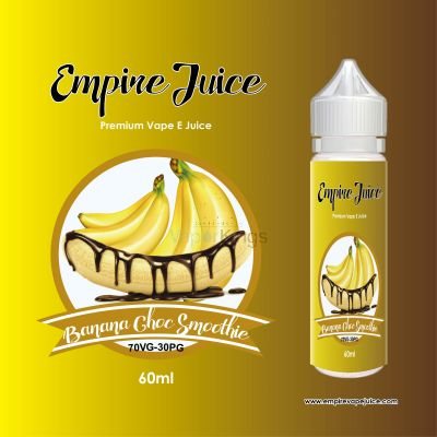 Choc Banana Smoothie Eliquid Nic