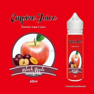 Black Apple Eliquid Nic