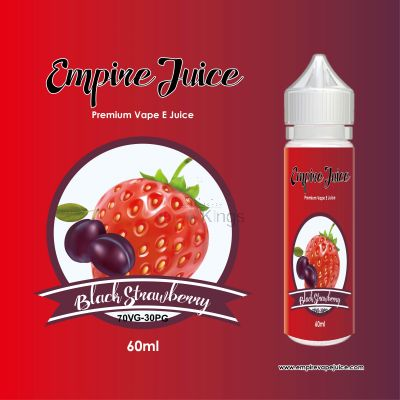 Black Strawberry Eliquid Nic