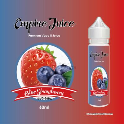 Blue Strawberry Eliquid Nic