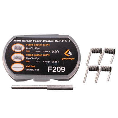 Geekvape Multi Strand Fused Clapton Coil 2 in 1 8pcs/pack