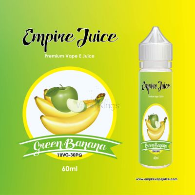 Green banana  Eliquid Nic