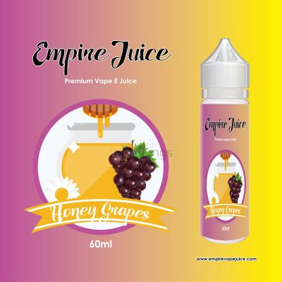 Honey Grapes Flavour Eliquid Nic
