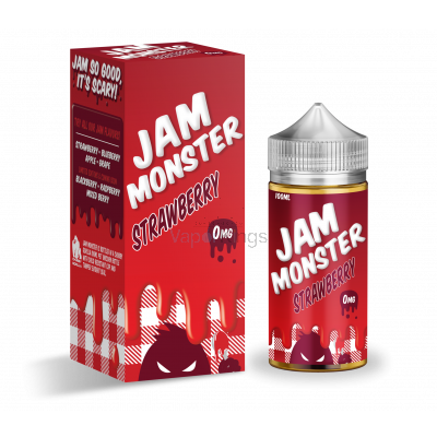 Strawberry Jam Monster e liquid