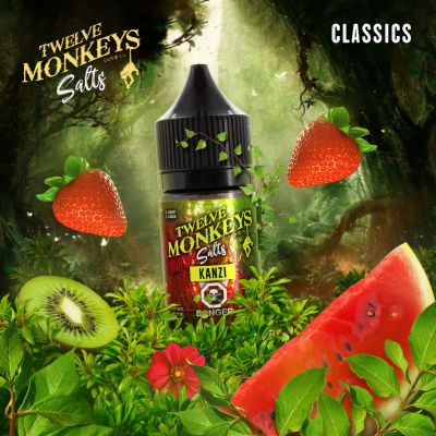 Kanzi SALT Nic E Liquid by Twelve Monkeys Vapor