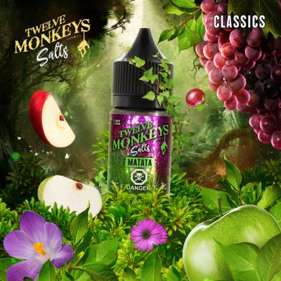 Matata SALT Nic E Liquid by Twelve Monkeys Vapor