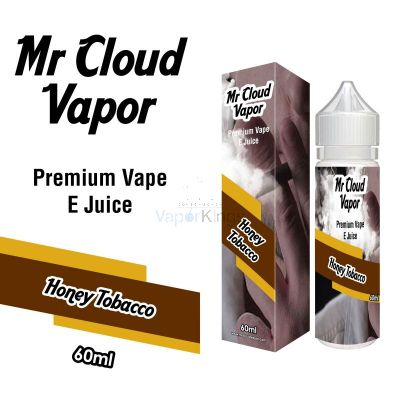 Honey Tobaco Eliquid Nic MR CLOUD VAPOR