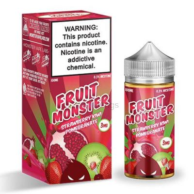 Strawberry Kiwi Pomegranate E Juice by Fruit Monster