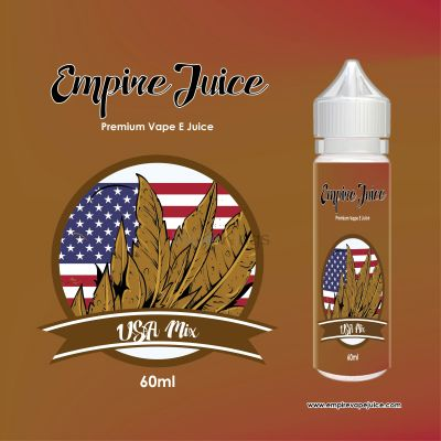 USA Mix Tobacco Eliquid Nic
