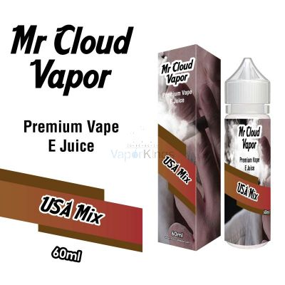 USA Mix Eliquid Nic MR CLOUD VAPOR